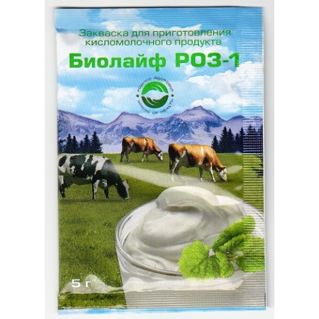 Закваска Биолайф РОЗ-1
