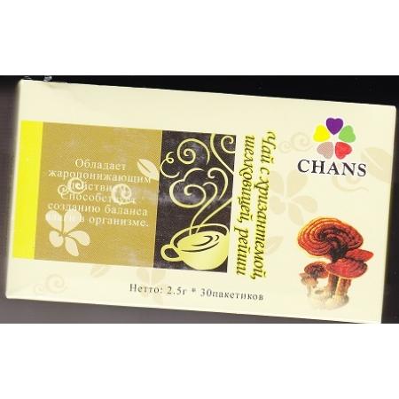 Чай с хризантемой, шелковицей, рейши
